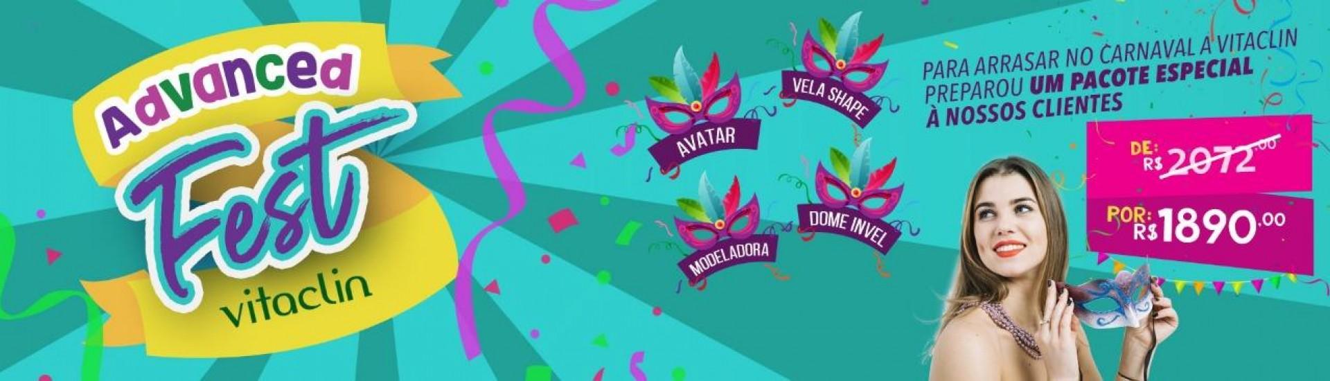 Advanced Fest Vitaclin por R$ 1.890,00